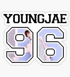 GOT7 - Youngjae 96 Sticker