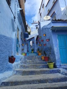 fun Love and The Blue City, Morocco,