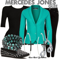 Inspired by Amber Riley as Mercedes Jones on Glee.