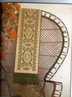 Cross Stitch Embroidery, Cross Stitch Patterns, Cross Stitches, Diy And Crafts, Tablecloths, Greek, Fabrics, Beautiful, Farmhouse Rugs