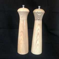 English Ash, tall, salt top is limed, pepper is carbon wax Salt And Pepper, Ash, Lime, English, Unique, Salt N Pepper, Lima, English Language, Key Lime