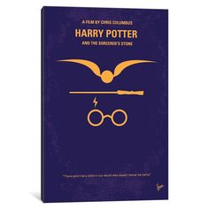 iCanvas 'Harry Potter And The Sorcerer's