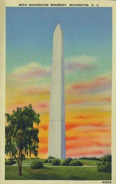Vintage Linen Postcard Lincoln Monument Lincoln Park Chicago Illinois 1940s Blue Border