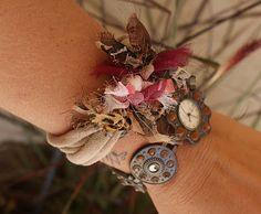 knotted tshirt bangle bracelet