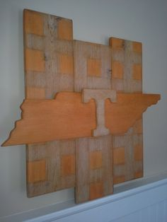 University of Tennessee Wall Art by WheelhorseDesigns on Etsy