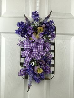 Tin, Floral Wreath, Projects To Try, Lavender, Wreaths, Crafty, Boutique, Spring, Shop