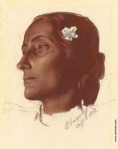 Яковлев Александр Евгеньевич (1887—1938) Девушка с Капри 1932