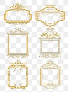 Wedding Background Images, Vector Border, Vintage Borders, European Wedding, Border Pattern, Banner Vector, Retro Pattern, Wedding Invitation Cards, Clipart Images
