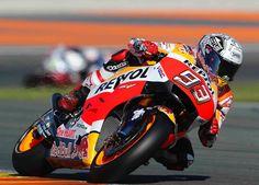 Marc Márquez | Honda Repsol Team — bij Circuit de la Comunitat Valenciana Ricardo Tormo. (16-11-2016)