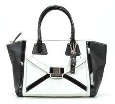 wardow.com - Tasche von Guess, Chleo Handtasche weiß 33 cm