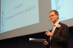Conférence de Business & Society Belgium, consacrée à la Responsabilité sociétale des entreprises. http://www.businessandsociety.be/fr
