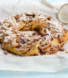 Brioche chocolat et noix de pécan façon Kringle - Bikini et Gourmandise