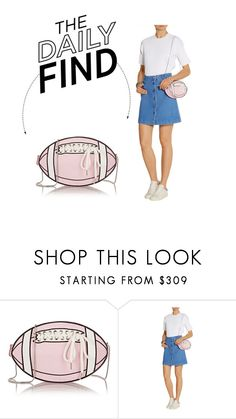"""""""The Daily Find: 91.2 Rugby Girl Shoulder Bag"""" by polyvore-editorial ❤ liked on Polyvore featuring women's clothing, women, female, woman, misses, juniors and DailyFind"""