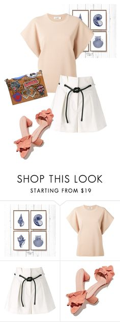 """bag"" by masayuki4499 ❤ liked on Polyvore featuring Jil Sander, 3.1 Phillip Lim, Loeffler Randall and Dsquared2"