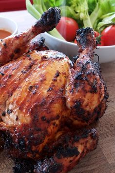 Helen Graves piri piri chicken recipe is the perfect summer barbecue recipe for cooking in the sun.