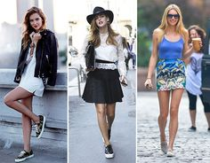 Wearing Sneakers with Dresses: Dos and Don'ts to Consider  #fashiontips #sneakers