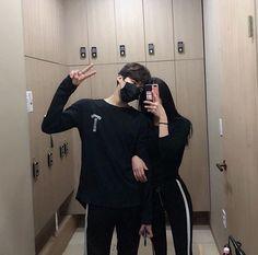 Imagem de couple, Relationship, and style Mode Ulzzang, Ulzzang Boy, Couple Ulzzang, Couple Aesthetic, Cute Korean Girl, Asian Love, Korean Couple, Boyfriend Goals, Fashion Couple