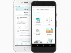 n26 app - Google Search App Design Inspiration, Ads, Phone, Google Search, Telephone, Mobile Phones