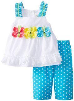 Rare Editions Baby Baby-Girls Infant White Turquoise Dot Leg Set, White/Turquoise, 12 Months Rare Editions,http://www.amazon.com/dp/B00GWETCFW/ref=cm_sw_r_pi_dp_7beitb07YW3WCT3H