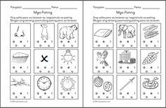Preschool Filipino Worksheets Bundle Vol. Grade 1 Reading, 1st Grade Writing, 1st Grade Math, Kindergarten Reading, Money Worksheets, 1st Grade Worksheets, Kindergarten Worksheets, Printable Worksheets, Free Worksheets
