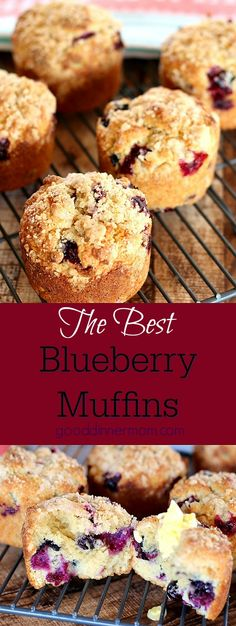 Perfect Blueberry Muffins are also easy blueberry muffins. Incredibly moist and flavorful,