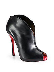 Christian Louboutin - Chesterfille Leather Ankle Boots