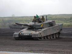 Japan Ground Self-Defense Force Type 90 MBTs [4224 x 3168]
