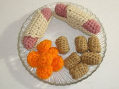 patternPigs in a Blanket with Taters and Carrots by crochetbysandi, $5.00