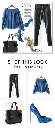 """romwe 7."" by igor89 ❤ liked on Polyvore featuring Yves Saint Laurent and romwe"