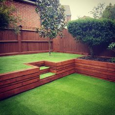 Image result for multi level decking and lawn garden