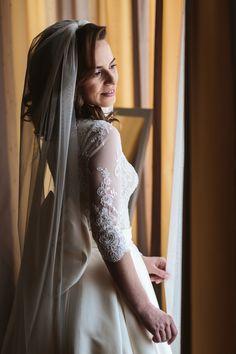 Romantic Wedding in Zalau Greece Wedding, Romantic Weddings, Bridal Portraits, Beautiful Bride, Designer Dresses, Wedding Day, Couture, Photography, Pi Day Wedding