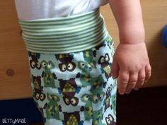 Owl pants with high waist tutorial