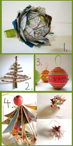 DIY Christmas Tree Ornaments You Can Craft – 15 Ideas for Handmade Ornaments for the Holidays
