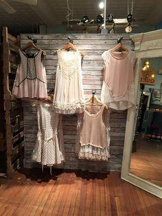 Clothing display at Sweet Elizabeth Jane