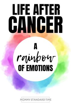 Cancer survivorship brings with it a wide range of emotions. Read this post to discover a rainbow of emotions felt by a cancer survivor. Thyroid Cancer, Cervical Cancer, Chemo Brain, Cancer Quotes, Cancer Survivor Quotes, Cancer Survivor Tattoo, Cancer Facts, Breast Cancer Survivor, Cancer Support