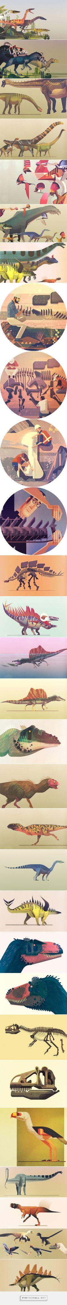 Lonely Planet Dinosaur Atlas on Behance