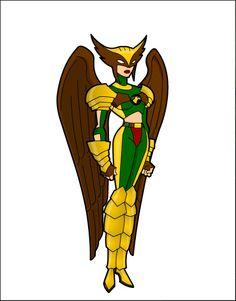 Hawkgirl by RobRobTakari92