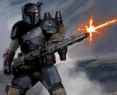 The Mandalorian concept art revealed at the end of the first episode of the Star Wars series has been officially released online without credits text. Star Wars Jedi, Star Wars Rpg, Baby Groot, Boba Fett, Arte Nerd, Mandalorian Armor, Star Wars Concept Art, Star Wars Pictures, Bounty Hunter