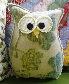 who wouldn't want to cuddle up with this cute little pillow?