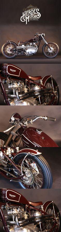 1968 TRIUMPH BOBBER 500cc T100  #forsale #heroesmotors #caferacer #vintagemotorcycles #triumph #harleydavidson #losangeles #california #norton #vincent #indian #classicmotorcycles #ateliersbueno #photosergebueno