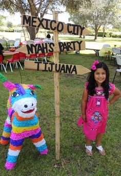 Nyah's #HelloKitty #Mexican #Fiesta #Pinata Fun DIY party Project