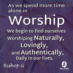 If we worship alone before God, our worship becomes more genuine when we with others. More at #RisenScepter owl.li/4mZ4NS