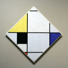 Mondrian - This work changed my view of art...Thanks Humanities101!