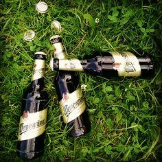 Wir warten draußen im Park auf euch! Wer hat Lust an unserer frischen #Wernesgrüner -Runde teilzunehmen?
