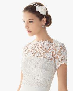 Rosa Clara Vestido de novia