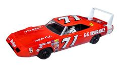 Scalextric C3423 Bobby Isaac Dodge Charger Daytona Slot Car (1:32 Scale)