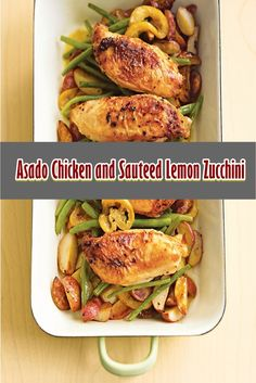 Asado Chicken and Sauteed Lemon Zucchini  Asado bird and sauteed lemon zucchini substances three lbs (1.5kg) chicken breast 2 to 3 medium sized zucchini, diced 8 garlic cloves.  Cowl and refrigerate for at least 30 minutes to marinate.  #crockpot #crockpaotmeals #easycrockpotrecipes #Amazing