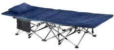 ELTOW Cozy Folding Camping Cot - Heavy-Duty Portable Collapsible Sleeping Bed with Pillow and Mattress - Superior Camping Gear with Strong Steel Frame and Oxford Fabric - Supports 400 Pounds Camping Cot, Camping With Kids, Camping Gear, Camping Hacks, Tent Cot, Camping Furniture, Cool Tents, Oxford Fabric, Camping Survival