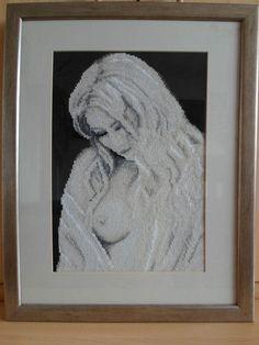 RIOLIS COUNTED CROSS STITCH - SEXY LADY (18.5 x 14.5 inch), (47 x 37cm)