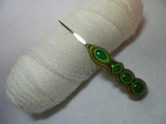 1 Handmade Too Shay Crochet Hook Handle by CraftyLadyQuiltLady